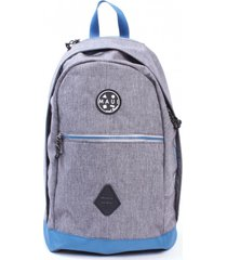 mochila escolar lifestyle gris maui and sons