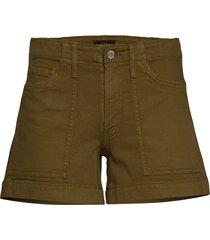 mid-rise 4 utility short shorts denim shorts grön banana republic