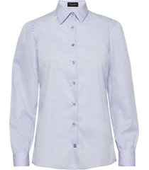 8704 - loreto overhemd met lange mouwen blauw sand