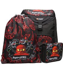 outbag deluxe set accessories bags backpacks rood lego bags
