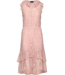 3164 - nivi/l jurk knielengte roze sand
