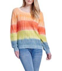 seven7 tie dye pullover sweater