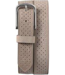 men's trask denton perforated leather belt
