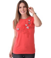 t-shirt xuss rj71260 rojo