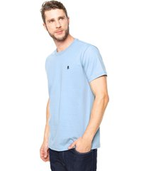 camiseta polo wear comfort azul - azul - masculino - algodã£o - dafiti