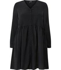 klänning vmgabrina 3/4 short shirt dress wvn curve
