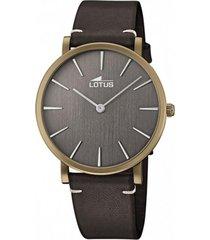 reloj 18783/4 minimalist café lotus