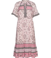 bohemic dress jurk knielengte roze odd molly