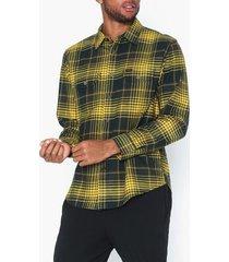 lee jeans seasonal worker lemon zest skjortor lemon