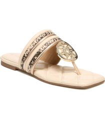 circus by sam edelman women's artem square-toe thong sandals women's shoes