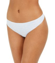 calvin klein women's invisibles thong underwear d3428