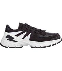 scarpe sneakers uomo in pelle tiger bolt