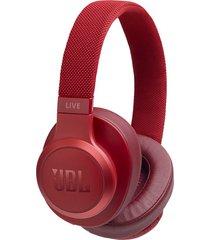 audifonos inalambricos jbl live 500bt con control de voz rojo