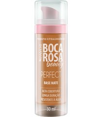 base líquida matte hd 30ml 3 francisca - boca rosa beauty by payot único