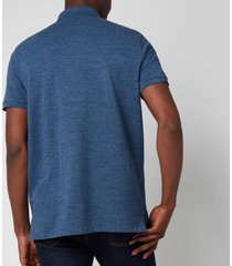 polo ralph lauren men's custom slim fit mesh polo shirt - classic royal heather - xxl