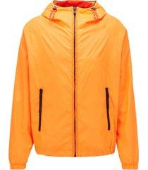 boss men's coslo bright orange jacket