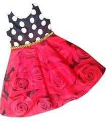 vestido floral patatitas i2213 multicolor