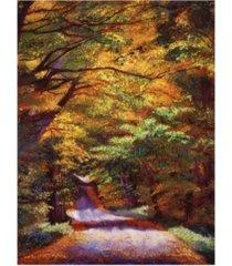 "david lloyd glover new hampshire country canvas art - 37"" x 49"""