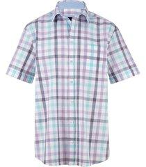 overhemd babista paars::lichtblauw