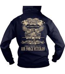airforce veterans, airforce us , us army veteran hoodie