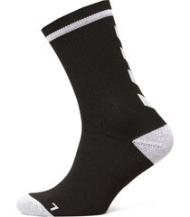 elite indoor sock low underwear socks football socks svart hummel