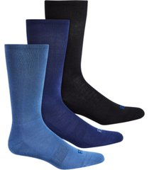 perry ellis men's 3-pk. c fit perfect comfort dress socks