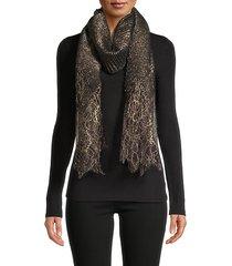 lace wool-blend shawl