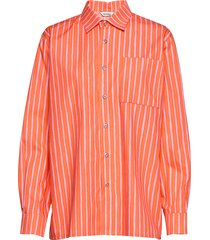 jokapoika shirt overhemd met lange mouwen oranje marimekko