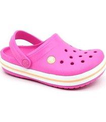 clog crocs infantil crocband feminino