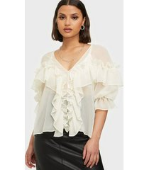 nly trend just butterflies blouse festblusar