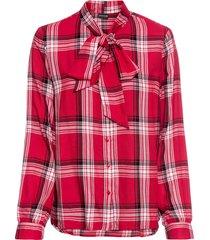 camicetta con fiocco (rosso) - bodyflirt