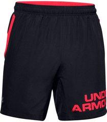 korte broek under armour speed stride graphic shorts