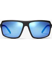 mk occhiali da sole carson - blu (blu) - michael kors