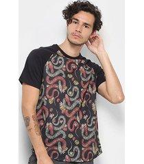 camiseta hurley especial tread masculina