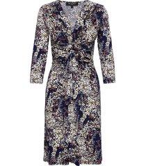 dress jurk knielengte blauw ilse jacobsen
