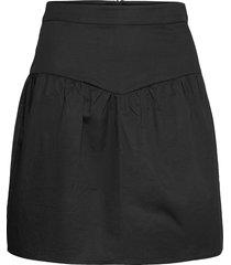 ilona skirt kort kjol svart minus