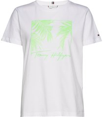 brigit relaxed top ss t-shirts & tops short-sleeved vit tommy hilfiger