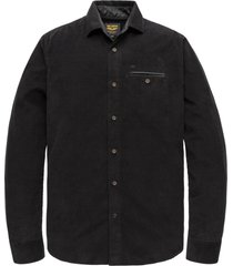 pme legend psi207213 9123 long sleeve shirt clean corduroy grey