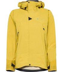 allgrön 2.0 jacket w's outerwear sport jackets gul klättermusen