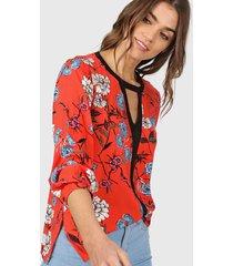 blusa roja tarym