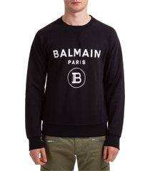 balmain fringe sweatshirt