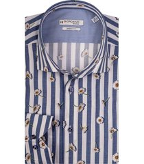 giordano maggiore overhemd gestreept 107803/60