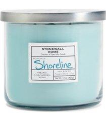 stonewall home shoreline candle, 21.25 oz