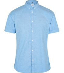 river island mens big & tall maison riviera blue oxford shirt