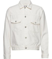 cam jacket jeansjacka denimjacka vit wood wood