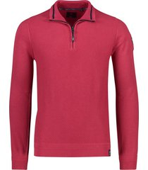 nza pullover waihara rood structuur