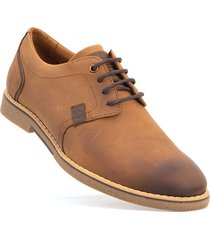 zapatos sollu desert navy/brown-caoba