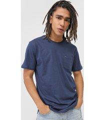camiseta rvca bolso azul-marinho