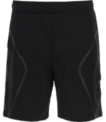 a-cold-wall shorts with heat-sealed bands