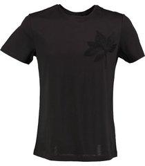 antony morato zwart slim fit shirt valt kleiner
